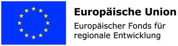 Förderhinweis der Europäischen Union bei hydewa