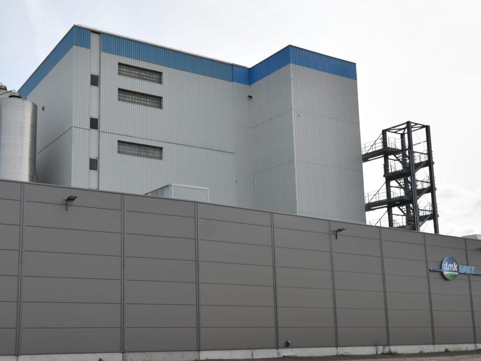 Gebäude von Molkereigenossenschaft DMK-Group