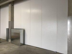 Wandsysteme von Hydewa in einer Produktionshalle von Vossko