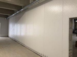 Hydewa Wandsysteme bei Vossko Produktionshalle